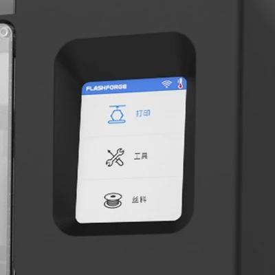 2.8-inch touch-screen 3d printer flashforge adventurer 3