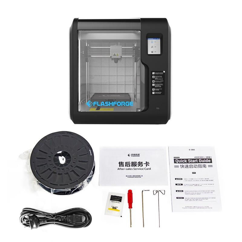 delivery set 3d printer flashforge adventurer 3