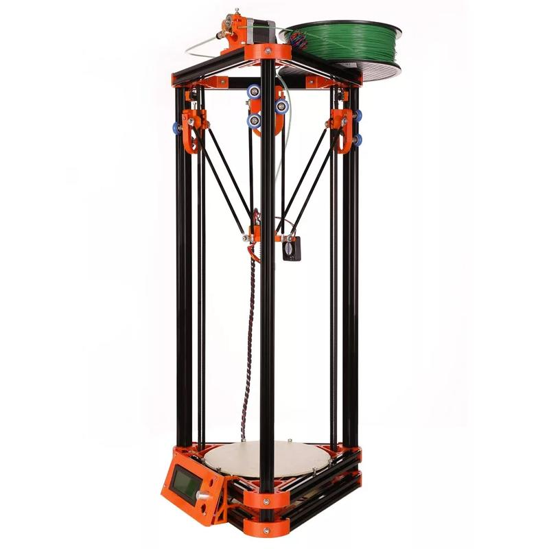 FLSUN 3D Metal Frame Kossel Delta DIY KIT with filament