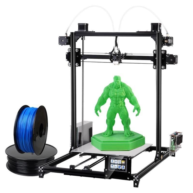 FLSUN 3D i3 Plus Large Print Area 3D Printer Kit with filamen