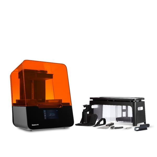 What's in the box formlabs for 3 3d printer