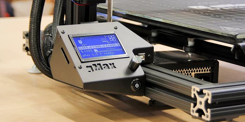 full graphic LCD touch-screen gMax 1.5XT+ 3d printer