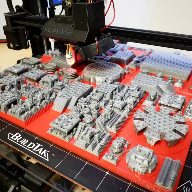 lego-detals printed gMax 1.5XT+ 3d printer