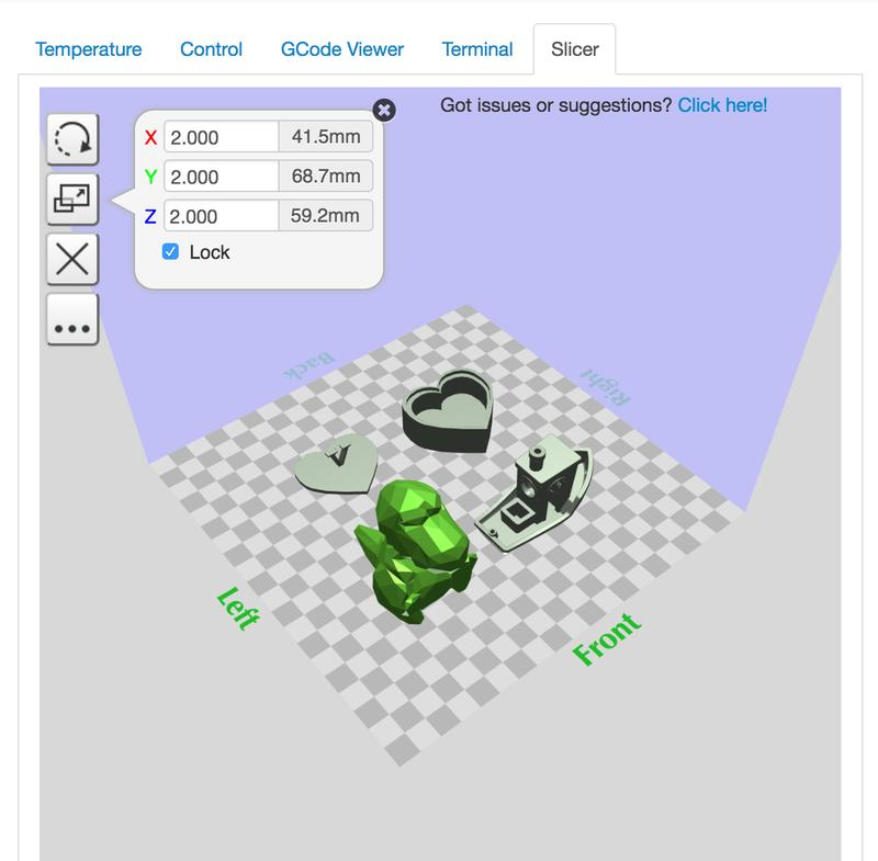 gMax 1.5XT+ is compatible with all major slicing software, including Cura, Simplify 3D, and OctoPrint, which are available for Windows, Linux and Mac OS