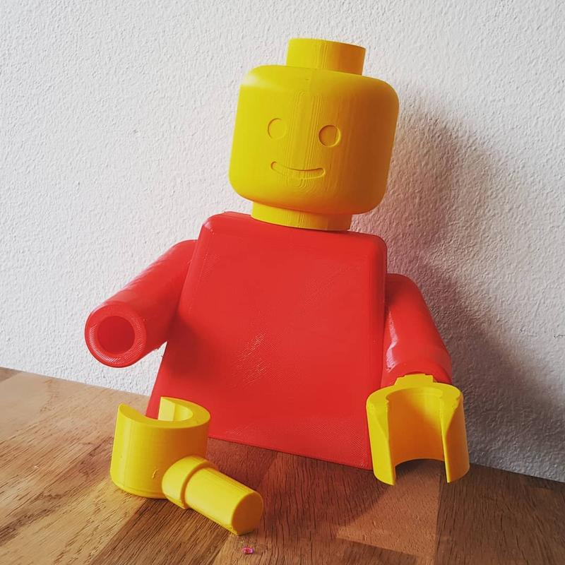 lego detals printed on Geeetech A10 3d printer