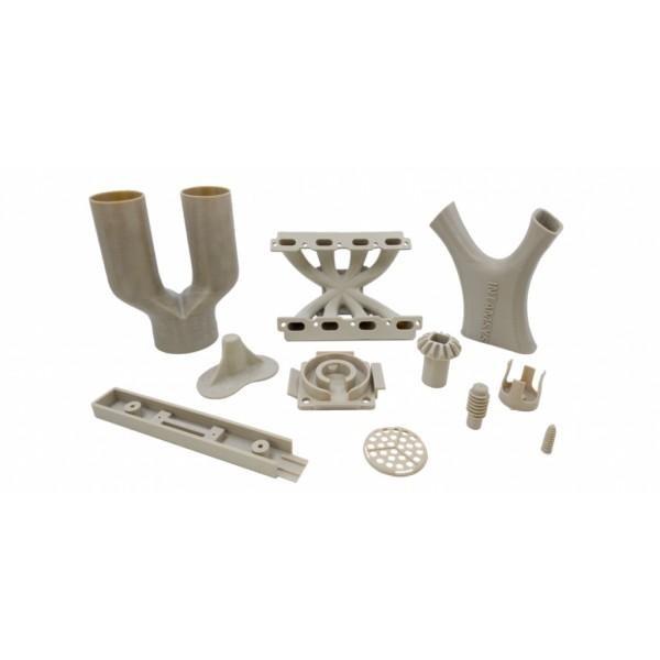 plastic models printed on the Intamsys Funmat Pro 410 3D printer