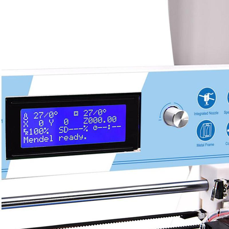 LCD display with an adjustable knob for easy operation and a more convenient interaction.