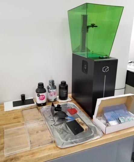 What's in the Kudo3D Titan 2 3D printer box