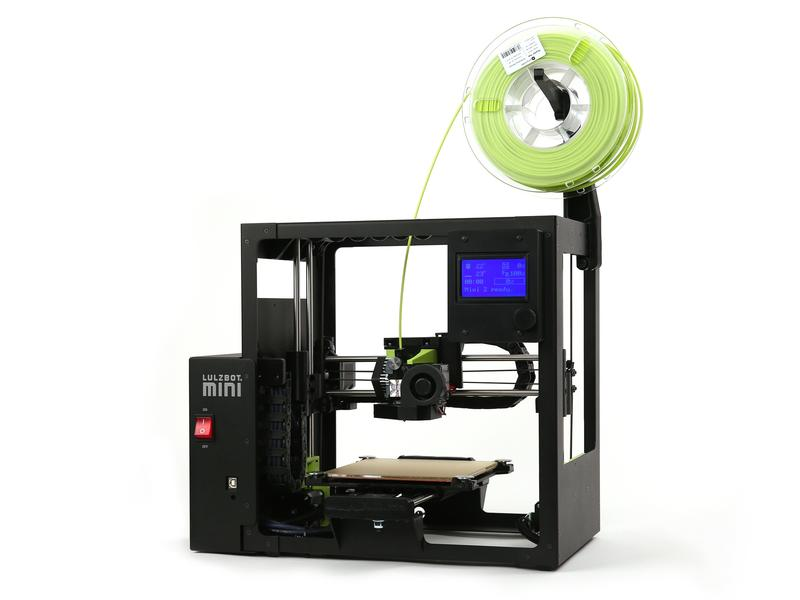 3d printer lulzbot mini 2