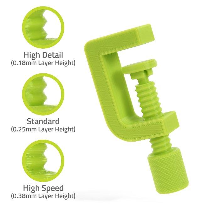 3d model printed clamp