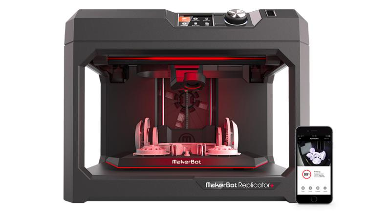 3d printer makerbot replicator + control by mobile
