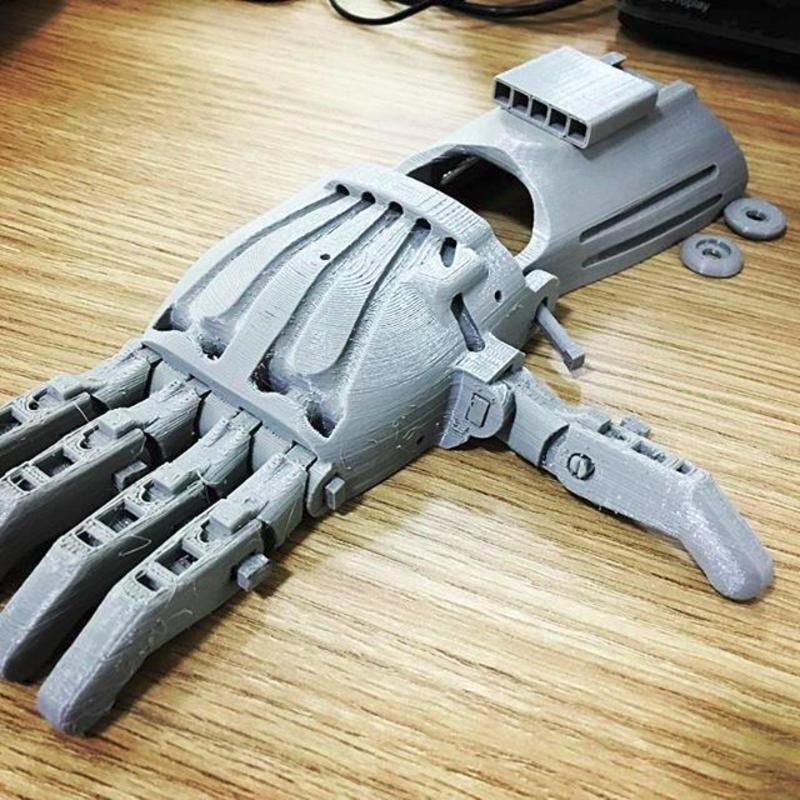 3d model printing hand
