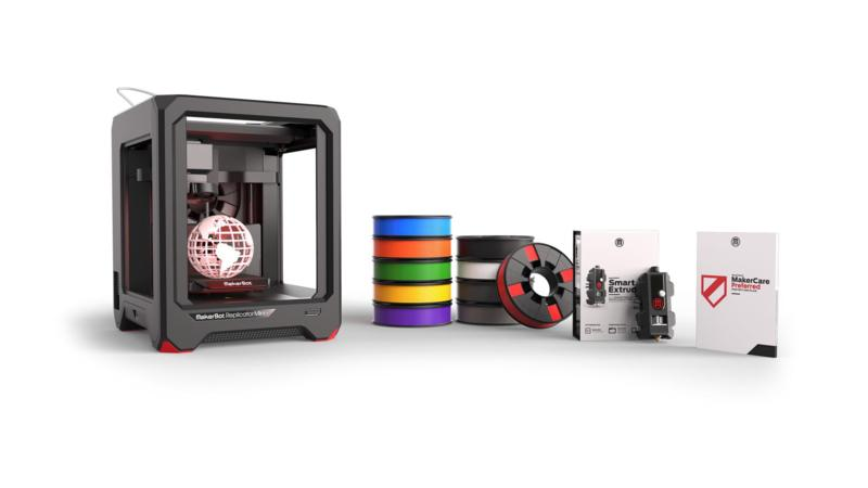 3d printer makerbot replicator mini complete set