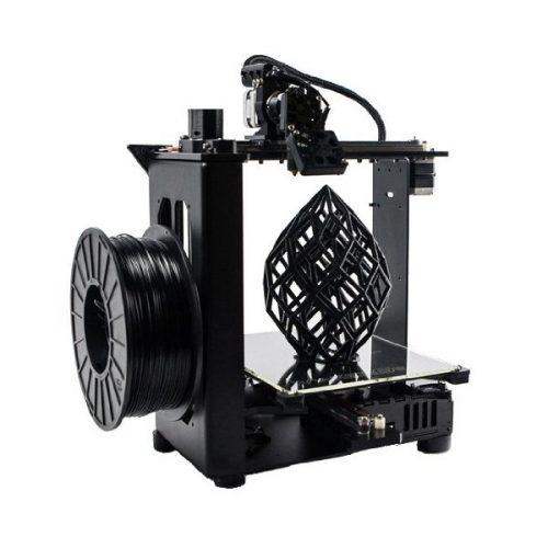 The MakerGear M2 3D Printer has a 0.35 mm nozzle, giving you the best balance between speed and detail.