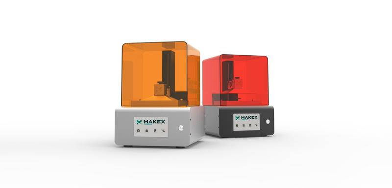 two Makex M-One Pro 3D printer