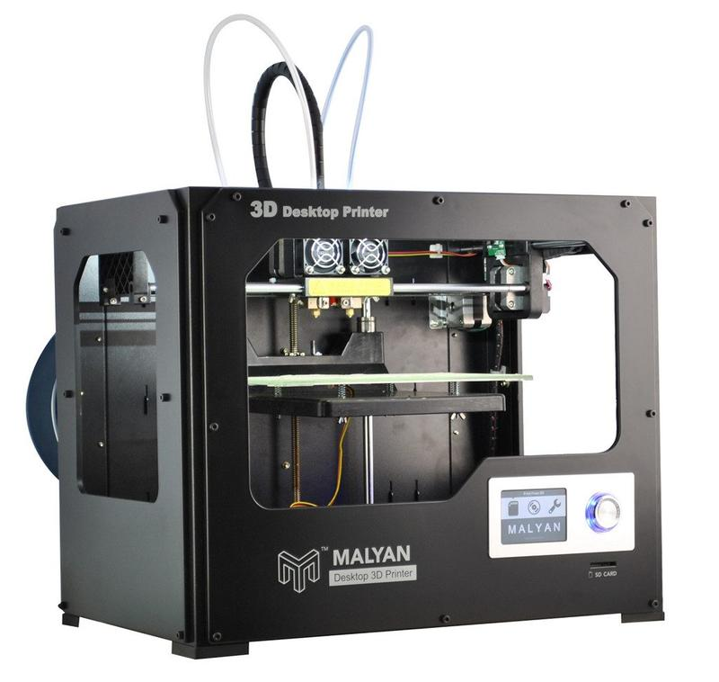 malyan m180 dual head 3d printer buy or lease at top3dshop