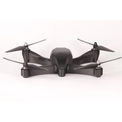 ook at this stylish, all-black drone. It shows extreme accuracy, smoothness, and definition.