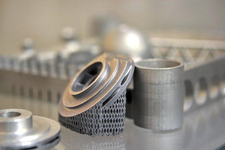 Finished products are well-defined, smooth and isotropic.