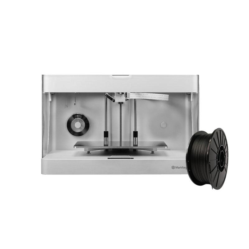 Markforged Onyx Pro 3D printer with filament cartridges