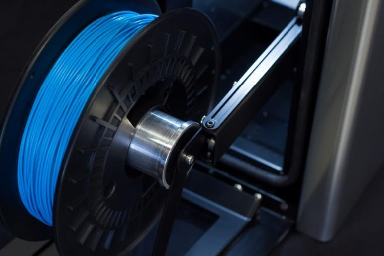The Mass Portal D600 prints with 1.75 mm filament, providing you with a wide choice of materials.