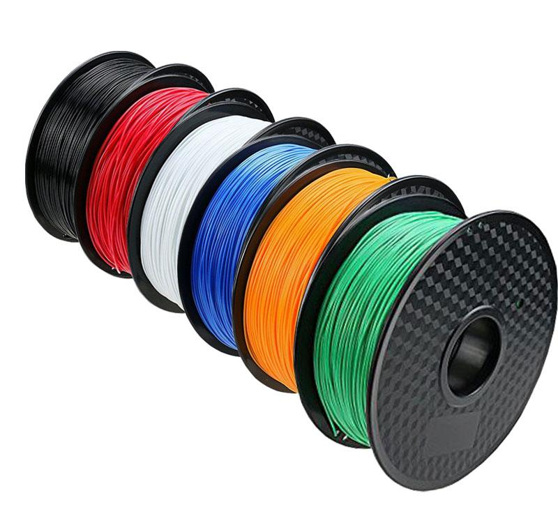 The Micromake D1 prints with any type of 1.75 mm filament