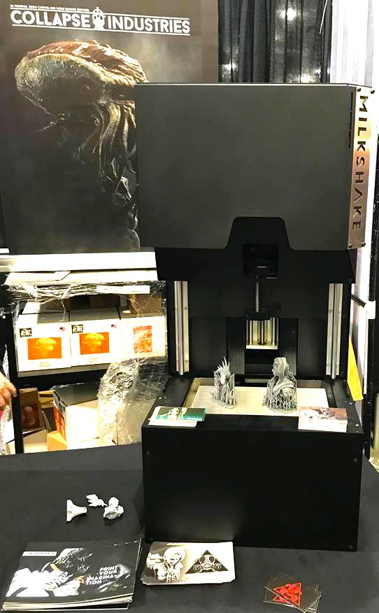 Milkshake 3d printer