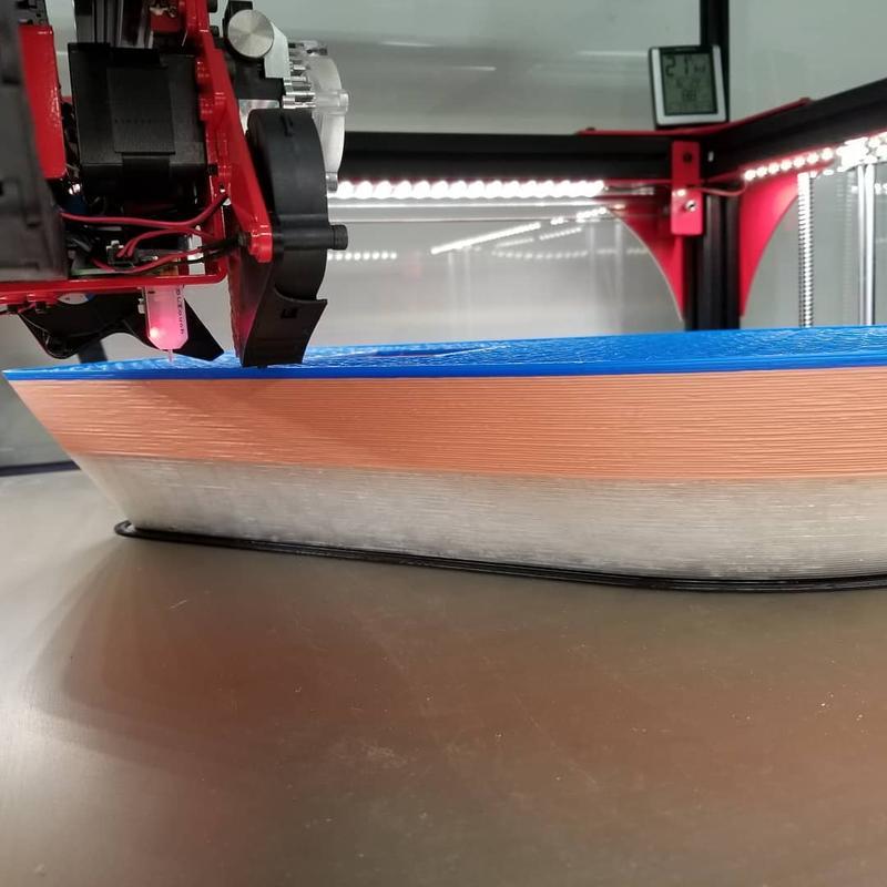 the Modix 120x 3D printer nozzles