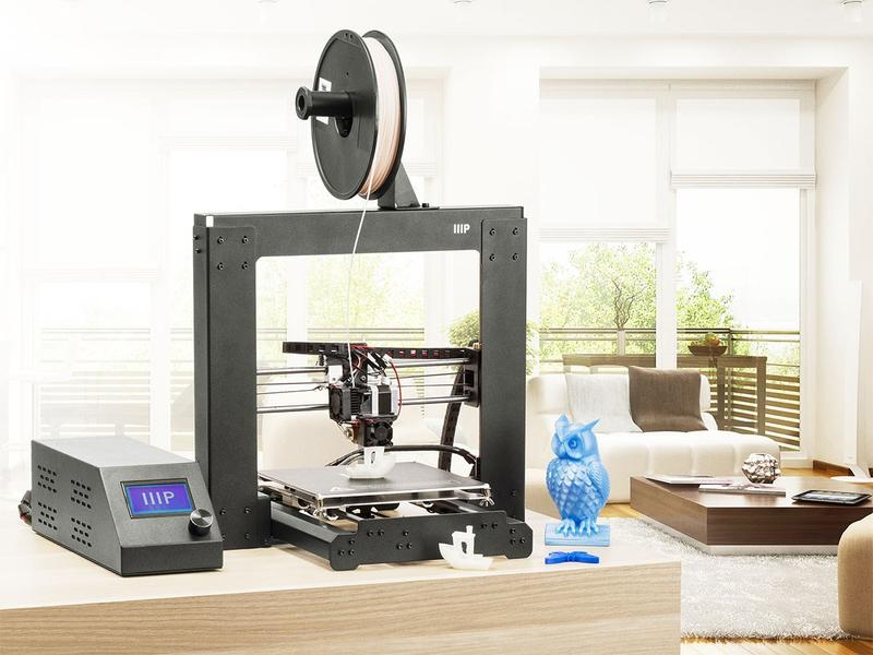 Monoprice Maker Select v2 3D Printer on the table