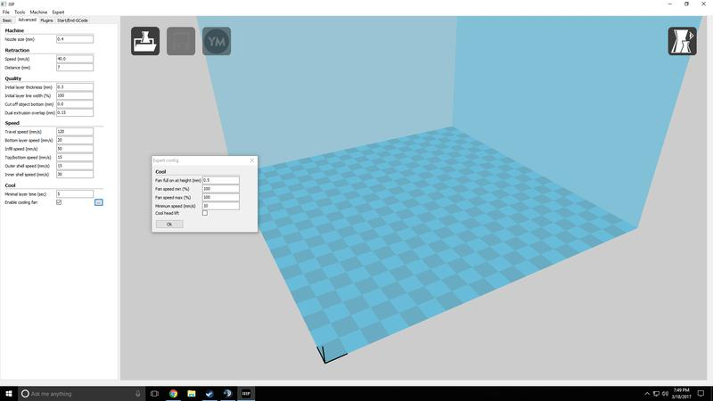 Cura, Repetier, and Simplify3D, just to name a few. The printer software is available for Windows, Mac OS X, and Linux.