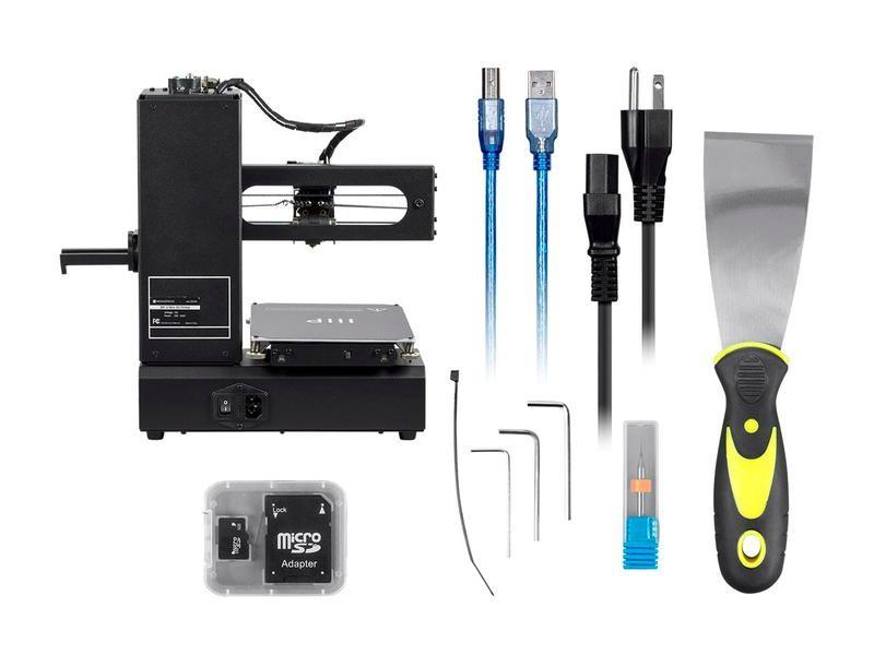 What's in the Monoprice MP i3 3D Printer box