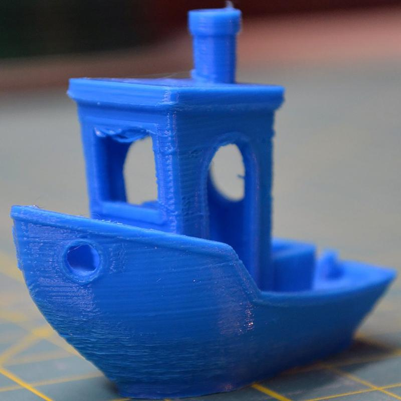 This is a Benchy first test print. It turned out fine considering the price.