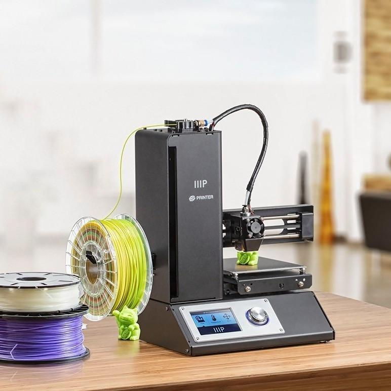 Monoprice Select Mini 3D printer V2 prints with ABS