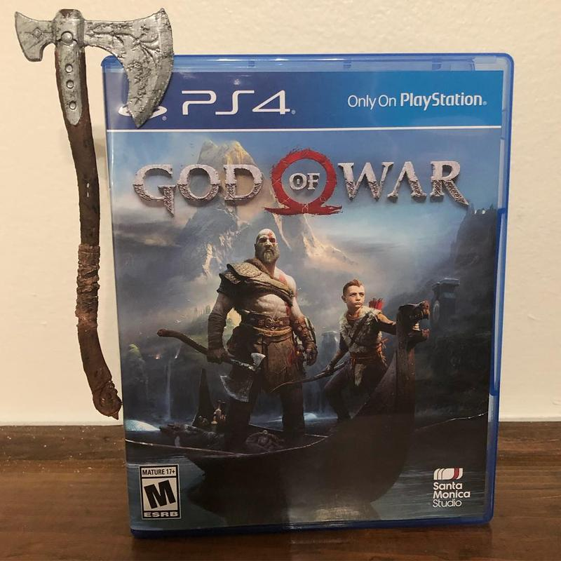 For example, one enthusiast printed and decorated the Leviathan Axe from the God of War video game