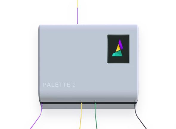 Palette 2 is an Arduino-based tool compatible with the most popular FDM 3D printers available on the market