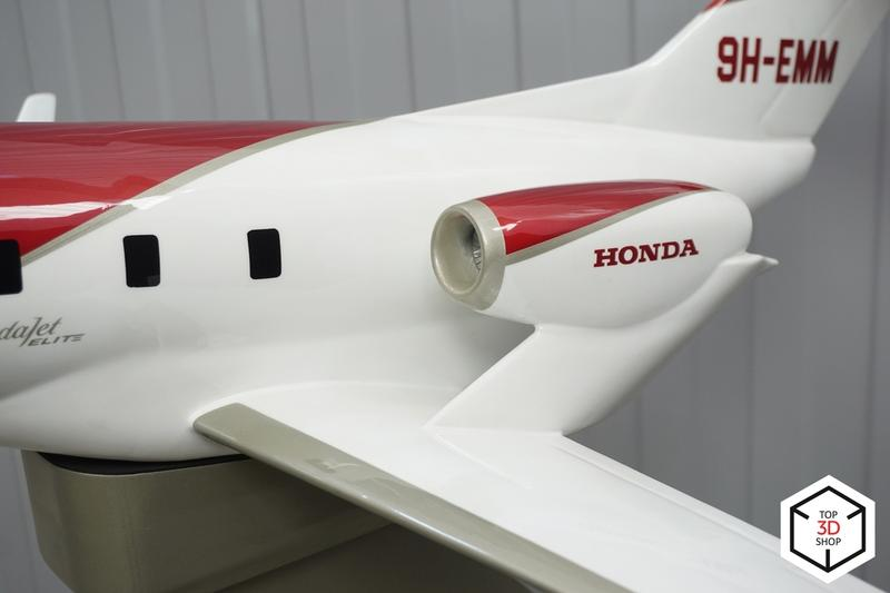 one-meter long HA-420 HondaJet model printed on the picaso designer x 3d printer