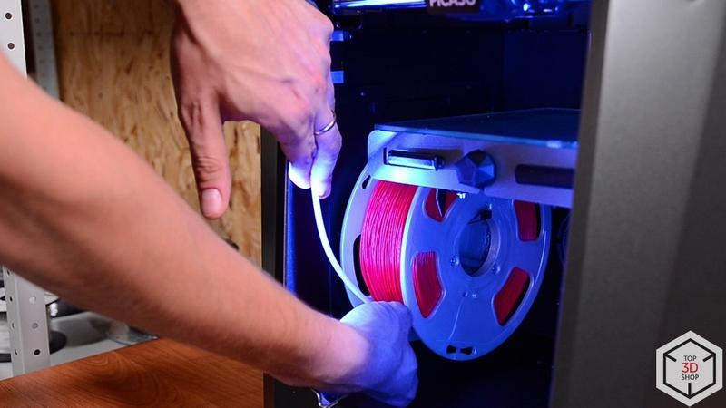 The Designer X prints with 1.75 mm filament, providing you with a wide choice of materials.