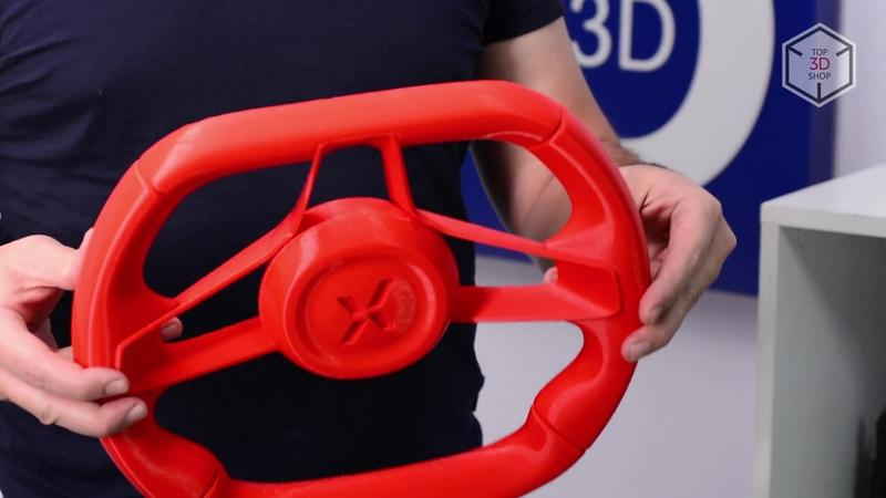 steering wheel printed on the picaso 3d desinger xl 3d printer