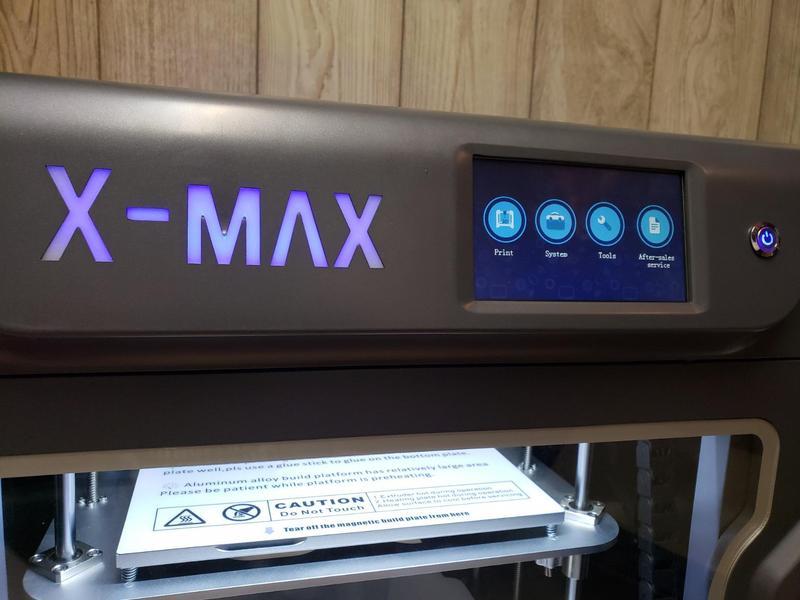 multi-language option 3 d printer qidi tech x-max