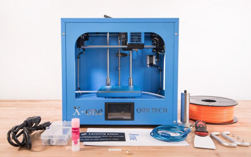 What's in the boxQidi Tech X-ONE 2 3d printer