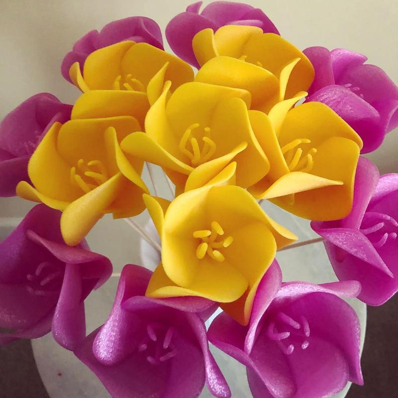 3D print some never-dying flowers just like the ones in the pic