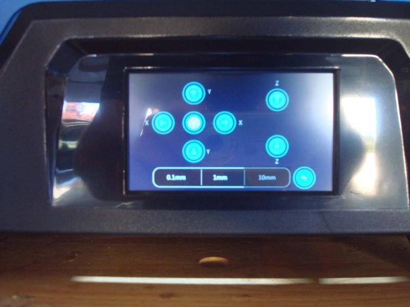 intuitive touch-screen 3d printer qidi tech x pro