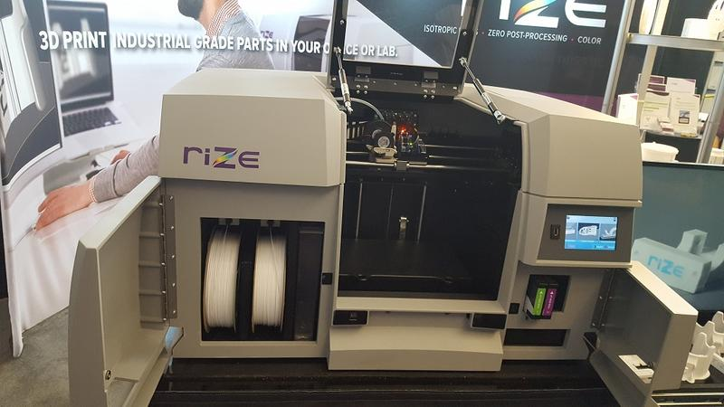 The RIZE ONE only works with own-brand, chipped filament cartridges