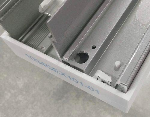 Each part shows clean edges and accurate profiles.