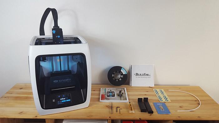 kit 3d printer robo c2