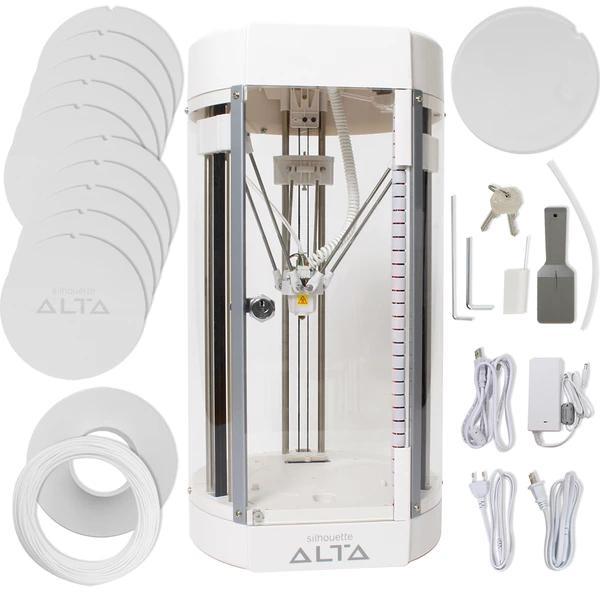 what's in the box Silhouette Alta 3D Printer