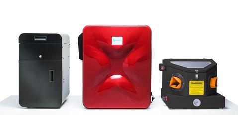 Sinterit Lisa 3D printer with another printers