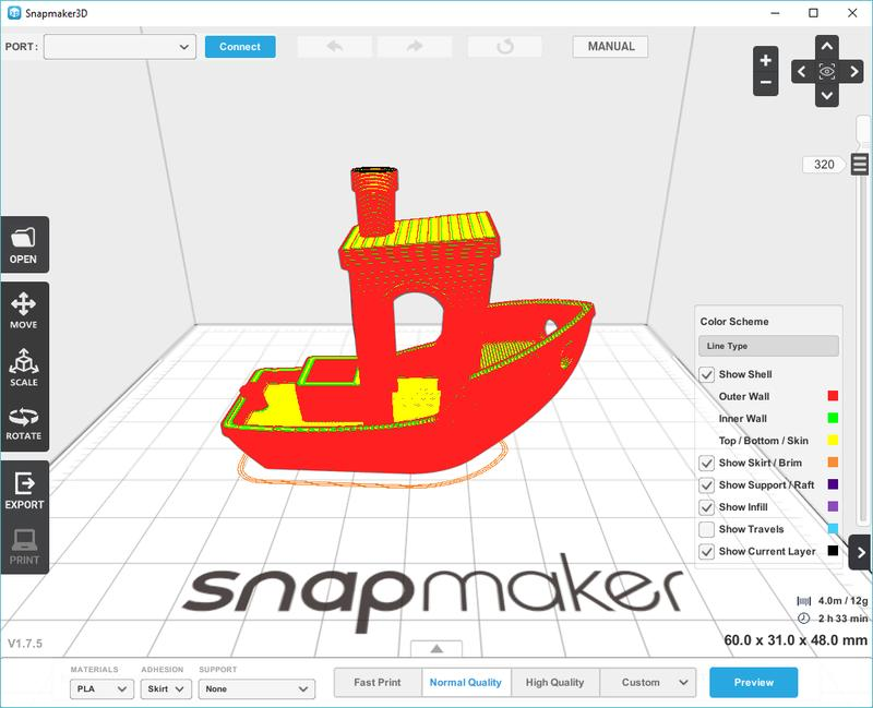 viewport snapmaker3d