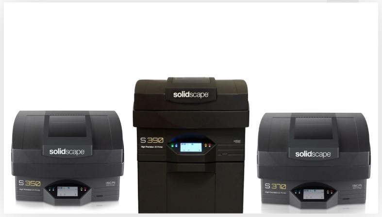 solidscape s line 3d printers