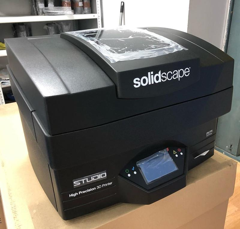Solidscape Studio Wax Model 3D Printer for Jewelry