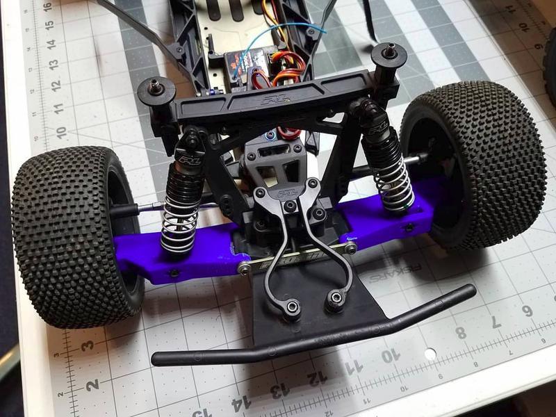 control arms racing pro-2